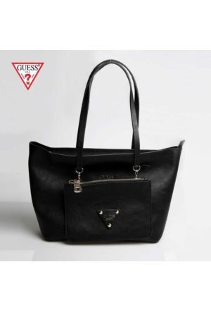 Guess Black 900 Hwvg50 50230 Guess Audrey 2 İn 1 Tote Black Çanta