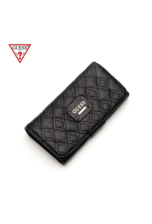 Guess Black 900 Swvg50 47590 Guess İzabella Slg File Clutch Black Guess Cüzdan