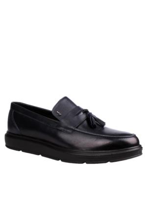 John May Navy Mr-8682 Leather John May Ayakkabı