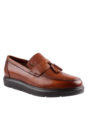 John May Taba Mr-8682 Leather John May Ayakkabı