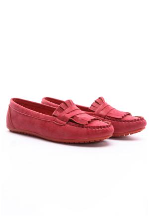 B.F.G Polo Style Bayan Babet Kırmızı