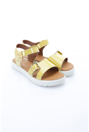 B.F.G Polo Style Bayan Sandalet Sarı