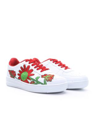 B.F.G Polo Style Bayan Spor Ayakkabı Beyaz