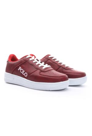 B.F.G Polo Style Bayan Spor Ayakkabı Bordo