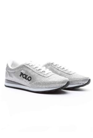 B.F.G Polo Style Bayan Spor Ayakkabı Gümüş