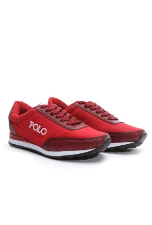 B.F.G Polo Style Bayan Spor Ayakkabı Kırmızı