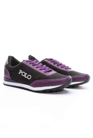 B.F.G Polo Style Bayan Spor Ayakkabı Mor