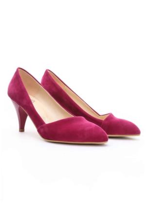 B.F.G Polo Style Bayan Stiletto Ayakkabı Fuşya