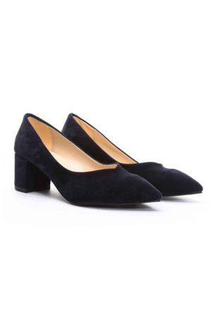 B.F.G Polo Style Bayan Stiletto Ayakkabı Lacivert
