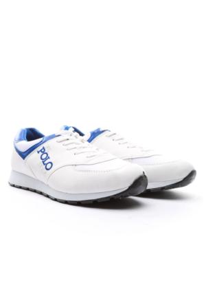 B.F.G Polo Style Erkek Spor Ayakkabı Beyaz