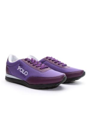 B.F.G Polo Style Spor Ayakkabı Mor