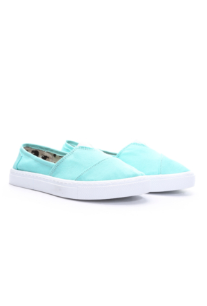 Limited Edition Bayan Hakiki Deri Ayakkabı Mint