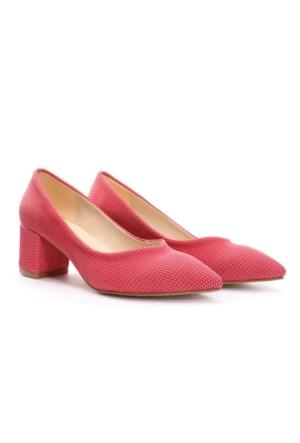 Limited Edition Bayan Stiletto Ayakkabı Fuşya