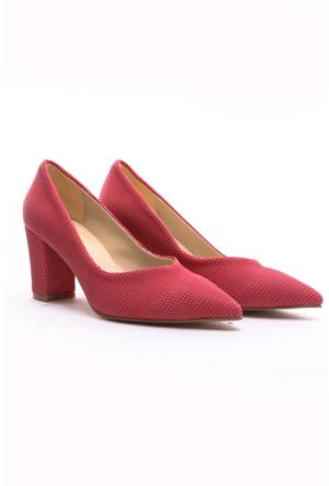 Limited Edition Bayan Stiletto Ayakkabı Gülkurusu