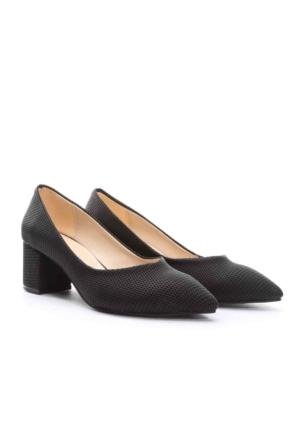 Limited Edition Bayan Stiletto Ayakkabı Siyah