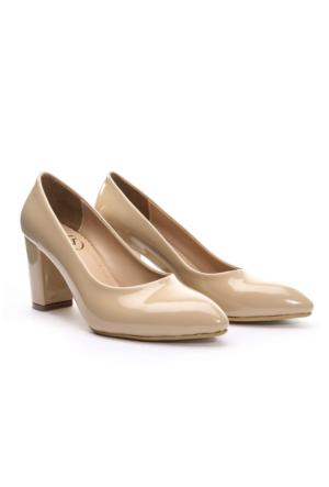 Limited Edition Bayan Stiletto Ayakkabı Ten