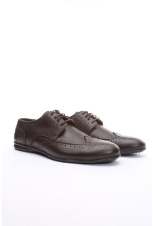 Limited Edition Hakiki Deri Erkek Ayakkabı Kahverengi