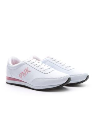 PNK Bayan Spor Ayakkabı Beyaz