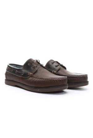 Shoes&Moda Erkek Deri Ayakkabı Kahverengi