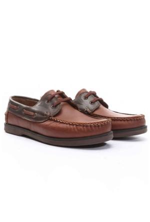 Shoes&Moda Erkek Deri Ayakkabı Taba