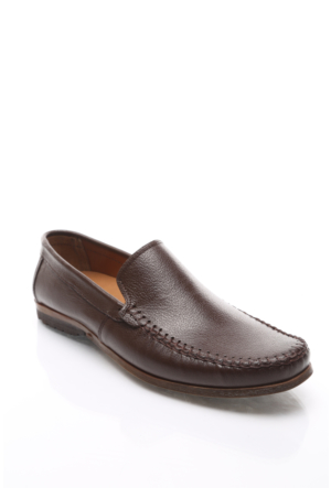 Shoes&Moda Hakiki Deri Ayakkabı Kahverengi
