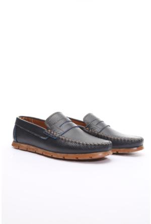 Shoes&Moda Hakiki Deri Ayakkabı Lacivert