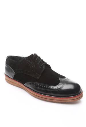 Shoes&Moda Hakiki Deri Ayakkabı Siyah