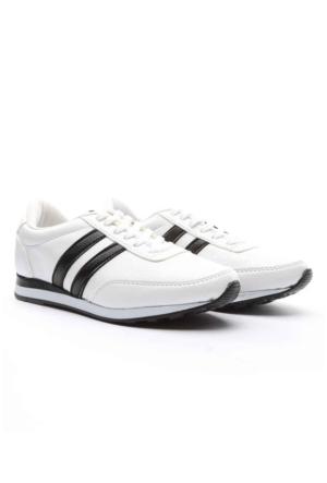 Trione Bayan Spor Ayakkabı Ekru