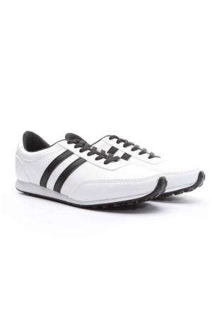 Trione Erkek Spor Ayakkabı Beyaz