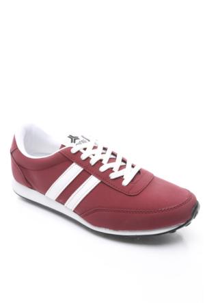 Trione Erkek Spor Ayakkabı Bordo