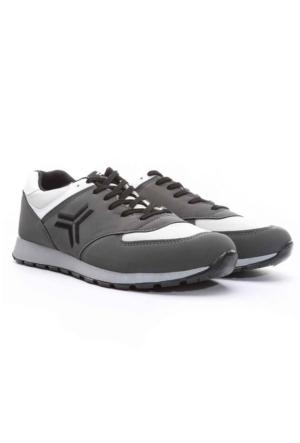 Trione Erkek Spor Ayakkabı Gri