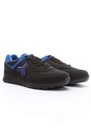Trione Erkek Spor Ayakkabı Siyah