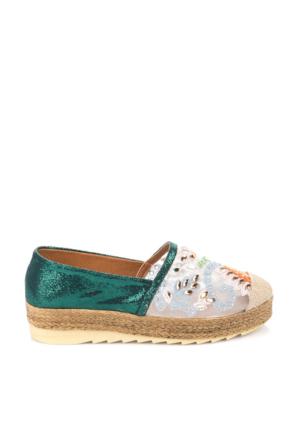 Pembe Potin Yeşil Ayakkabı