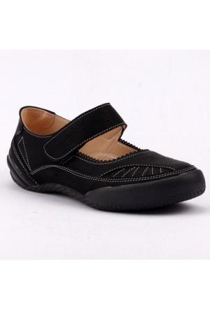 Caprito 436 Cırtlı Ortopedik Yürüyüş Günlük Kadın Spor Ayakkabı
