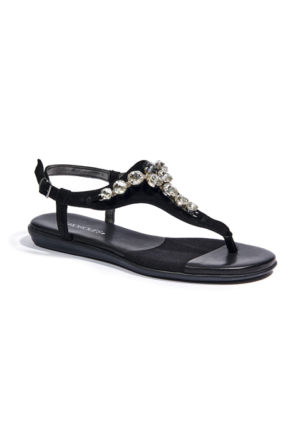 Aerosoles Chateaux Kadın Sandalet Siyah