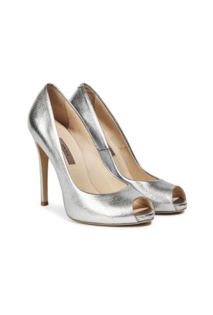 Desa Eva Kadın Abiye Ayakkabı Gümüş