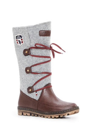 U.S. Polo Assn. Kadın K6Buffy Çizme Kırmızı