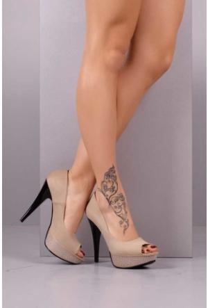 Peri Kızı Star Topuklu Ayakkabı