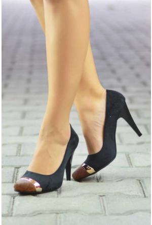 Peri Kızı Aragon Topuklu Ayakkabı - Kahverengi