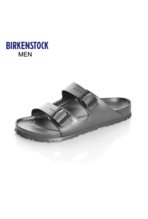 Birkenstock 1001497 Arizona Eva Metallic Anthracite Terlik