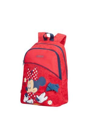 American Tourister New Wonder - Minnie Bow Sırt Çantası Kırmızı