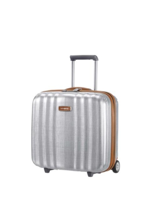 Samsonite Lite-Cube Dlx Rolling Tote Valiz Gümüş