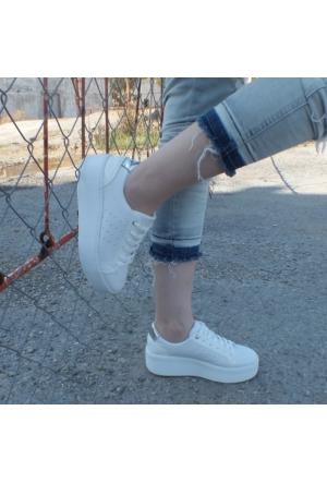 ModaBuymuş Kalın Taban Sneaker Ayakkabı