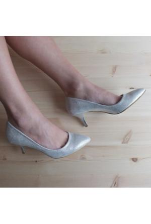 ModaBuymuş Abiye Kısa Topuklu Bayan Stiletto