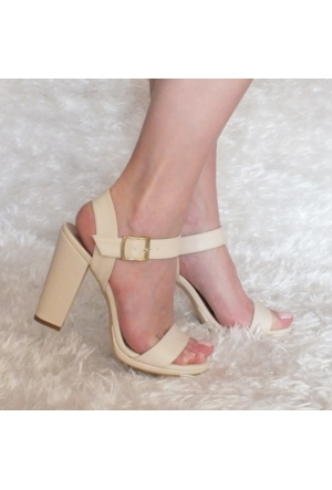 ModaBuymuş Platform Kalın Topuklu Ayakkabı