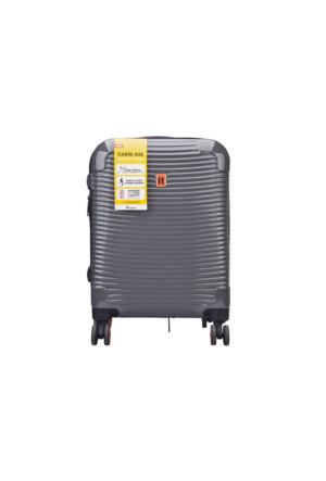 It Luggage Büyük Boy Seyahat Valiz Siyah Deri