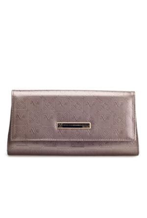 Versace 1969 Abbligliamento Günlük Kadın Çanta Platin Deri