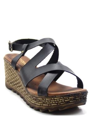 Cityzen 560 Kadın Deri Sandalet