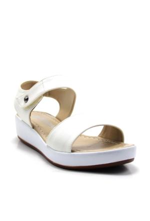 Ayakdaş 1035 Kadın Alçak Feta Sandalet