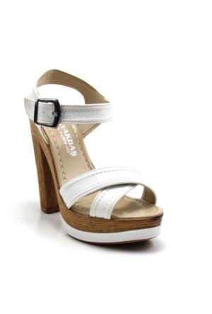 Ayakdaş 1028 Kadın Platfrom Sandalet